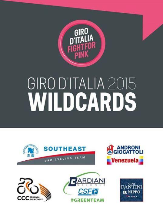 Giro 2015 Wild Cards