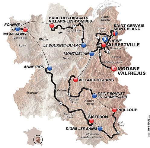 Criterium du Dauphiné 2015