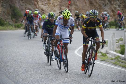 Tour de San Luis 2015 -  2a tappa La Punta - Mirador de Potrero 185.3km - 20/01/2015 - Rodolfo Torres (Colombia) - foto Bettini Roberto/BettiniPhoto©2015